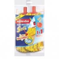 Vileda Σφουγγαρίστρα Soft 1+1 Δώρο +30% Μικροΐνες