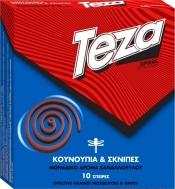Teza Εντομοαπωθητικό Σπιράλ 10τεμ