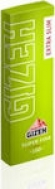 Χαρτάκια στριφτού GIZEH Λαχανί Extra Slim 66Φύλλων ( 1 τεμάχιο )