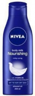 Nivea Nourishing Body Milk Bottle 250ml