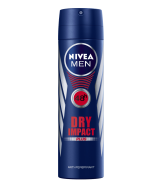 NIVEA Men Dry Impact Plus 48h Anti-Perspirant Deodorant Spray, 150ml