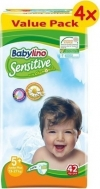 BABYLINO SENSITIVE No5+ (13-27kg) 4X42τμχ