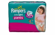 PAMPERS ΠΑΝΑ ΒΡΑΚΑΚΙ Νο6 (16+kg) 33ΤΕΜ ACTIVE GIRL