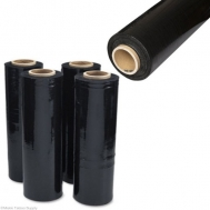 STRETCH FILM ΜΑΥΡΟ 50cm 23mic (2kg)