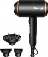 Kemei KM-8896 Επαγγελματικό Πιστολάκι Μαλλιών με Φυσούνα 3 σε 1 4000W