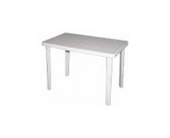 Λευκό τραπέζι Πάτμος 70Χ110