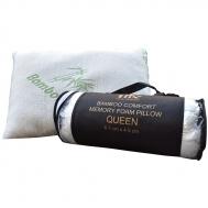 Ανατομικό Μαξιλάρι Bamboo Luxury Memory Foam Queen Βιολογικό Υποαλλεργικό Εργονομικό