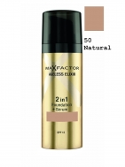 Max Factor Ageless Elixir 2 in 1 Make Up & Serum SPF15 50 Natural 30ml