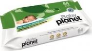 Baby Planet Μωρομάντηλα Aloe Vera 64τμχ