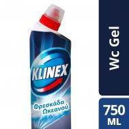 Klinex WC Total Power Ωκεανός 750ml 1+1 Δώρο