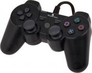ενσύρματο αναλογικό χειριστήριο για PS2 - Μαύρο