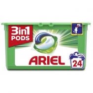 Ariel Pods 3 σε 1 Απορρυπαντικό Κάψουλες Regular 24τεμ