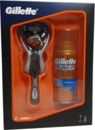 Gillette Σετ Fusion Proglide Ξυριστική Μηχανή 1Τμχ + Fusion Hydra Gel Ενυδατικό Τζελ Ξυρίσματος 75ml