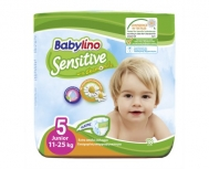 BABYLINO SENSITIVE No5 (11-25kg) 18τμχ