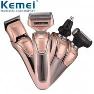 Επαγγελματική Ηλεκτρική Ξυριστική Κουρευτική Μηχανή & Τrimmer 3 σε 1 Kemei KM-1622