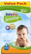 BABYLINO SENSITIVE No4+ (9-20kg) 46τμχ