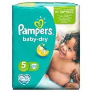 PAMPERS BABY DRY Νο5 (11-25kg) 23τμχ
