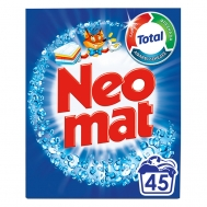 Neomat Απορρυπαντικό Σκόνη Total 45Μεζ.