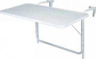 Τραπέζι Μπαλκονιού Κρεμαστό Μεταλλικό Βαρέως Τύπου 80χ40cm
