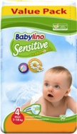 BABYLINO SENSITIVE No4 (7-18kg) 50τμχ