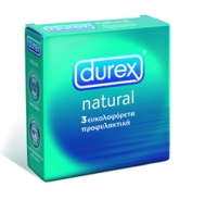 DUREX CLASSIC NATURAL ΦΥΣΙΚΟ ΠΡΟΦΥΛΑΚΤΙΚΑ 3 TEMAXIA