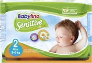 BABYLINO SENSITIVE No2 (3-6kg) 26τμχ