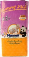 ΠΑΝΕΣ NANNYS BABY'S WISH Νο4+ (10-20 kg) 44 τμχ