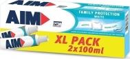 AIM Family Protection White 2x100ml