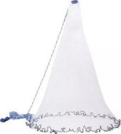 Πεζόβολο Αρματωμένο με Κρυσταλιζέ Δίχτυ Ψαρέματος Διαμέτρου 210cm