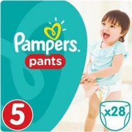 Pampers Pants No 5 (12-17kg) 28τμχ