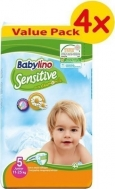 BABYLINO SENSITIVE No5 (11-25kg) 4X44τμχ