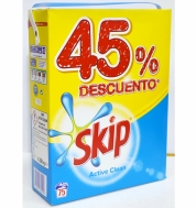 Σκόνη Πλυντηρίου SKIP Active Clean 75 Μεζούρες