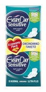 Every Day Sensitive Σερβιέτες Normal Ultra Plus Economy Pack 18τμχ