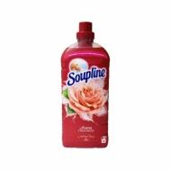 Soupline Ultra Μαλακτικό Aroma Τριαντάφυλλο & Κέδρος 56μεζούρες 1,3lt