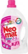 Neomat Total Gel πλυντηρίου 2 σε 1 Άγριο Τριαντάφυλλο (42 μεζούρες)