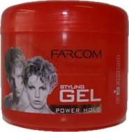 FARCOM Styling Gel Δυνατό Κράτημα 250 ml