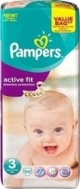 PAMPERS ACTIVE FIT Νο3 (4-9kg), 50τμχ
