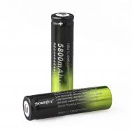Επαναφορτιζόμενη μπαταρία λιθίου GH 18650 5800mAh 3.7V