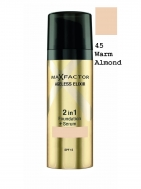 Max Factor Max Factor Ageless Elixir 2 in 1 Make Up & Serum SPF15 45 Warm Almond 30ml