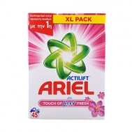 Ariel Σκόνη Πλυντηρίου Ρούχων Fresh Touch Of Lenor 45 Mεζ
