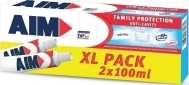 AIM ΟΔΟΝΤΟΚΡΕΜΑ FAMILY PROTECTION ANTI-CAVITY 2X100ml