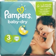 PAMPERS BABY DRY No3 (4-9kg) 30τμχ