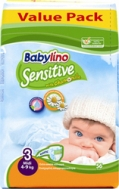 BABYLINO SENSITIVE No3 (4-9kg) 56τμχ