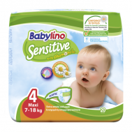 BABYLINO SENSITIVE No4 (7-18kg) 20τμχ