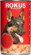 Rokus Dog Κονσέρβα Μοσχάρι 1250gr