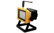 Eπαναφορτιζόμενoς φορητός προβολέας LED 30W CREE XML-L2 2400lm - Rechargeable LED Floodlight 30W 2400 lumen