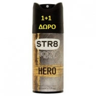 STR8 Hero Bodyspray 2x150ml