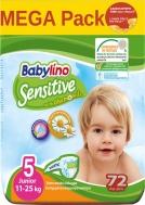 Πάνες Babylino Sensitive Mega Pack No5 (11-25Kg) 72τεμ.