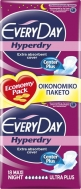 Every Day HyperDry Center Plus Maxi Night Ultra Plus 18τμχ