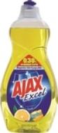 Υγρό Πιάτων Ajax Excel Λεμόνι 500ml